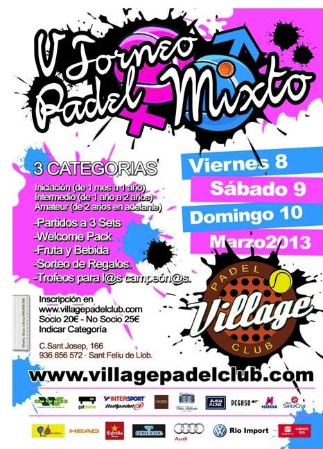 5o Torneo Mixto Village Padel