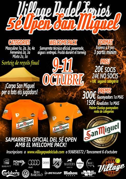 5o Open de padel San Miguel Village Padel Club