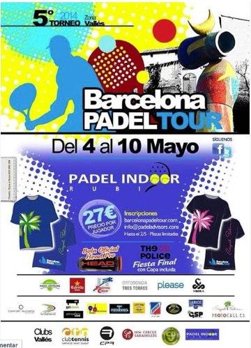 5o Torneo Barcelona Padel Tour Pádel Indoor Rubí