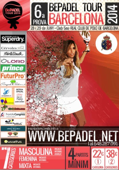 6a prueba Bepadel Tour Barcelona
