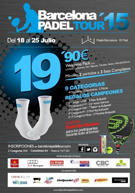 6a prueba de Barcelona Padel Tour 2015