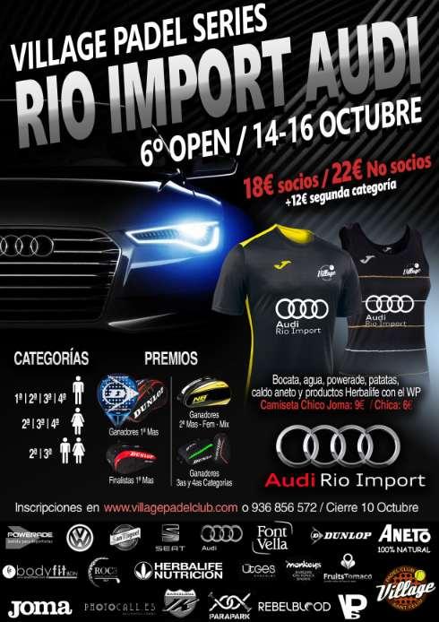 6o Open Rio Import Audi de las Village Padel Series