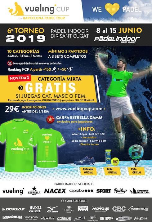 6o torneo Vueling Cup Padel Indoor Sant Cugat