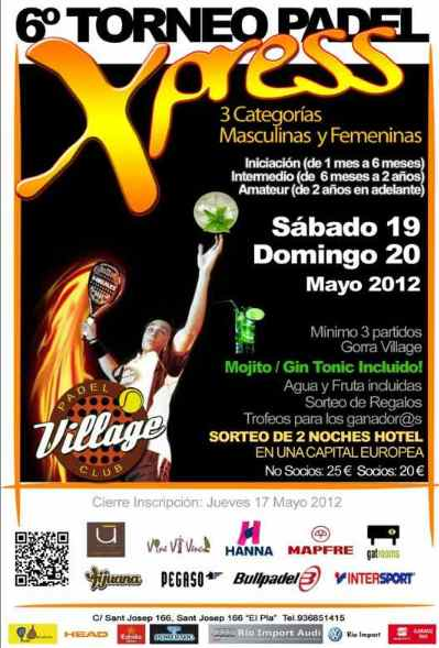 6o Torneo Xpress Village Padel Club