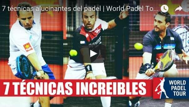 7 golpes maravillosos del pasado World Padel Tour