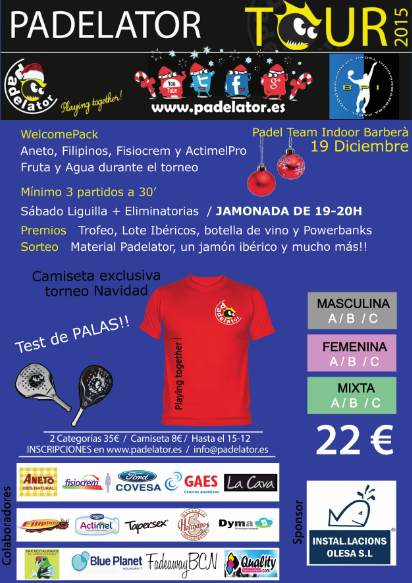 7a Prueba Padelator Tour 2015