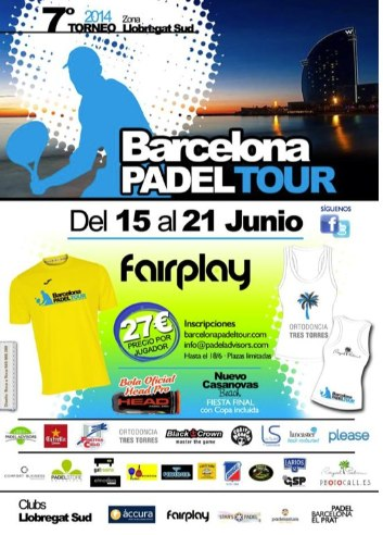7o Torneo Barcelona Padel Tour Fairpadel