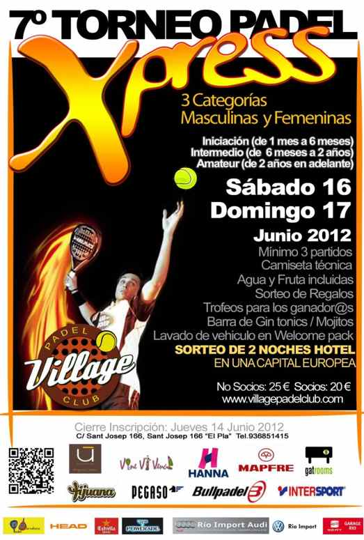7o Torneo Xpress Village Padel Club