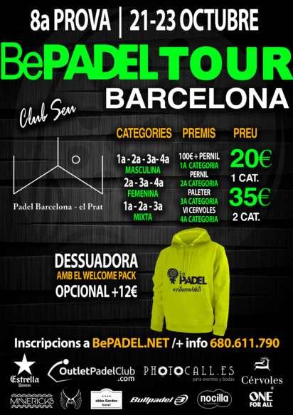 8A PRUEBA BEPADEL BCN EN EL Pàdel Barcelona-El Prat
