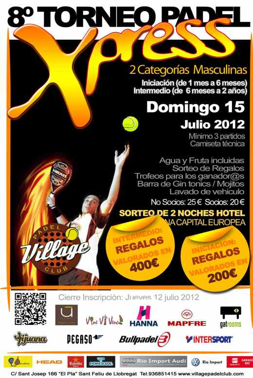 8o Torneo Xpress Village Padel Club