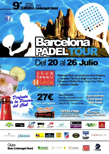 9o Torneo Barcelona Padel Tour Club Tenis Olesa
