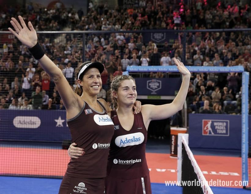 Alejandra Salazar y Marta Marrero Master 2018