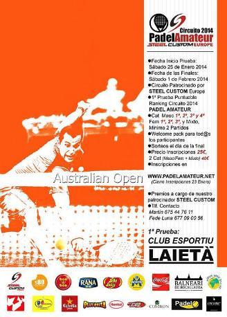 Australian Open Circuito PadelAmateur