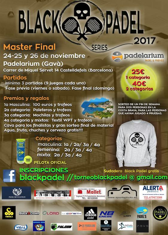 BLACK PADEL SERIES MASTER FINAL