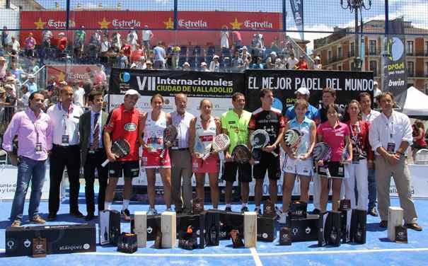Bela-Juan y Navarro-Reiter campeones en el PPT de Valladolid 2012