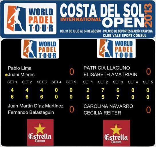 Bela - Diaz y Navarro - Reiter vencen el WPT I Costa del Sol