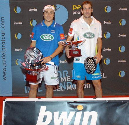 Belasteguin-Diaz ganan el Master de padel 2011