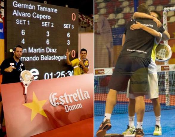 Belasteguin-Diaz pierden en primera ronde de A Coruna