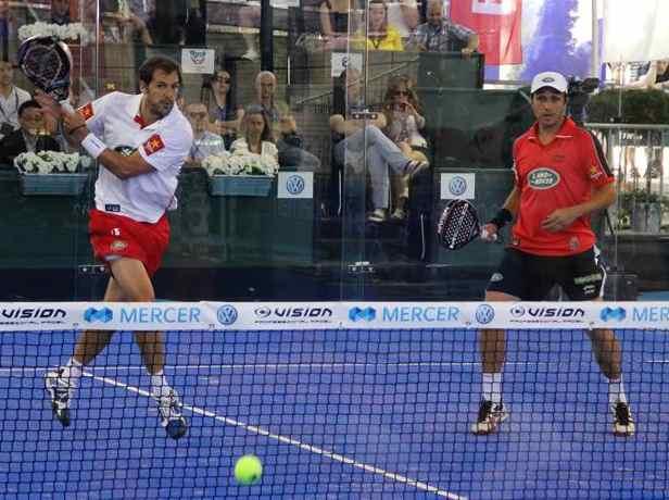 Belasteguin - Diaz ganarian 6-0 a Nadal - Federer