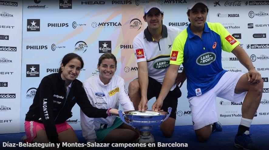 Belasteguin - Diaz y Montes - Salazar campeones del WPT Barcelona 2014