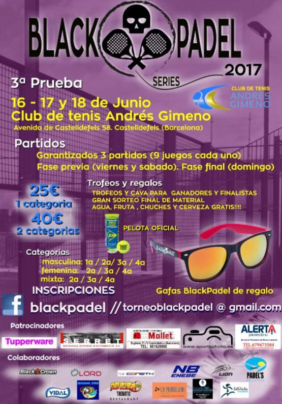 Black Padel Series 3a prueba