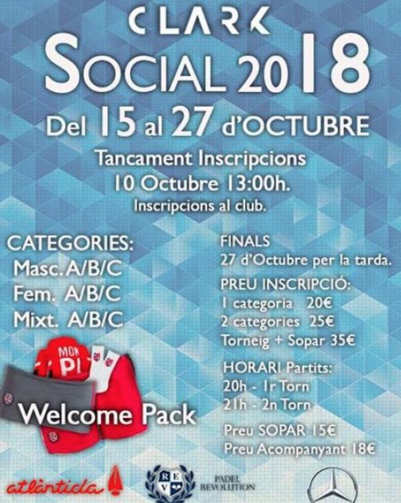 CLARK SOCIAL 2018