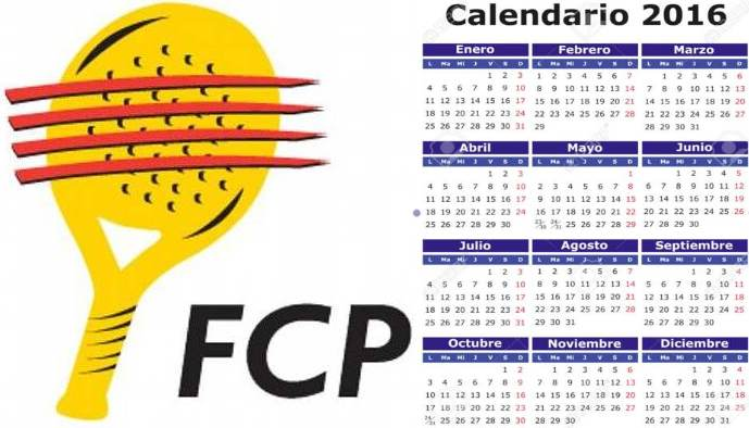 Calendario Federacion catalana de padel