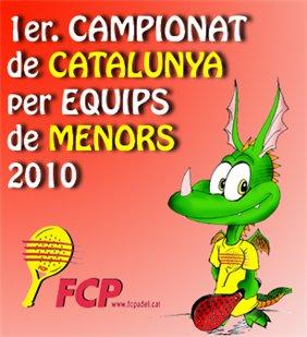 Campeonato de cataluna de padel por equipos de Menores 2010