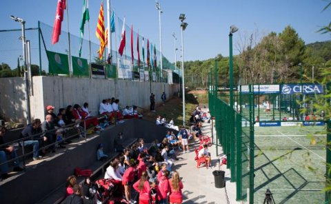 Campeonato de espana absoluto de padel. Ganan Catalunya y Andalucia