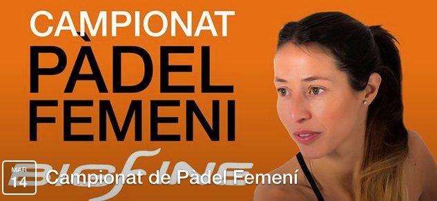 Campeonato de padel femenino en el Slam Club