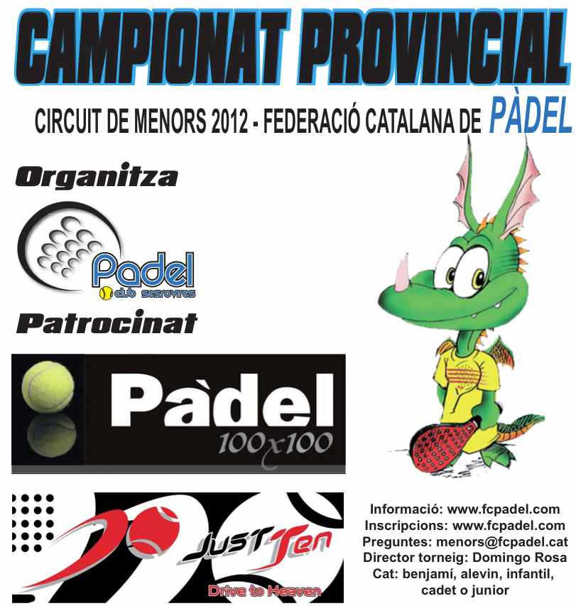 Campeonato provincial de menores en el CP Sesrovires