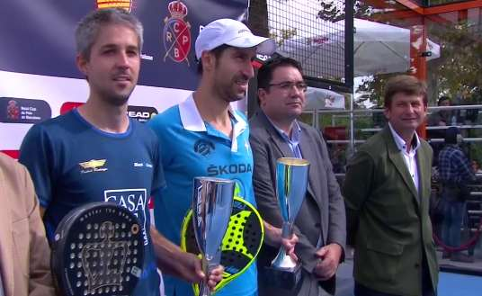 Campeones absolutos de Catalunya de pádel