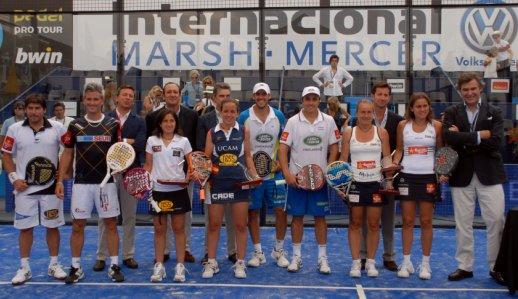 Campeones del PPT Madrid VI Internacional Marsh-Mercer