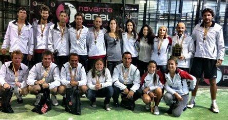Catalunya campeona de Espana de padel de selecciones Autonomicas