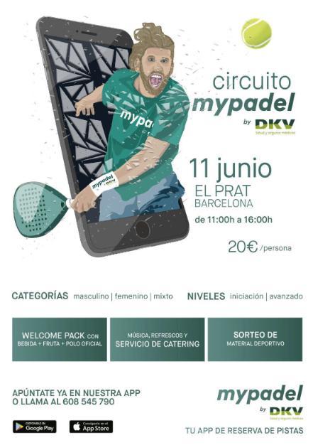 Circuito Mypadel by DKV en El Prat