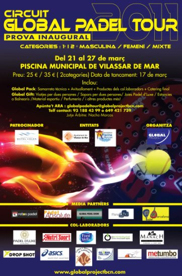 Circuito Global Padel Tour 2011