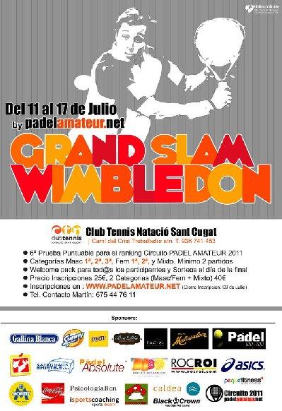 Circuito Padel Amateur – Grand Slam Wimbledon
