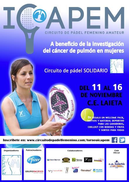 Patty Llaguno y Eli Amatriain y Las Guerreras apoyan el circuito ICAPEM
