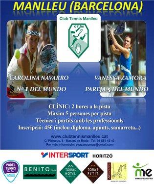 Clinic de Carolina Navarro y Vanessa Zamora en Manlleu