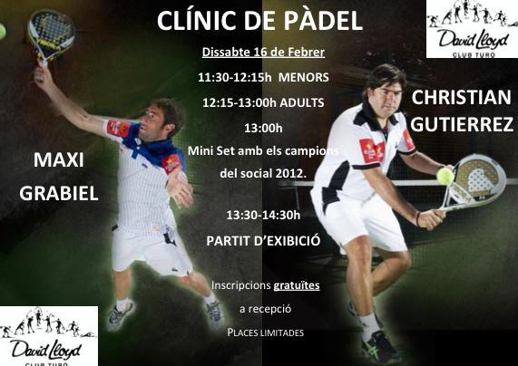 Clinic de Cristian Gutierrez y Maxi Grabiel en Barcelona