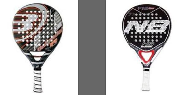 Comparación entre la Enebe RS Silver y la Bull Pádel BP10 PRO 2012