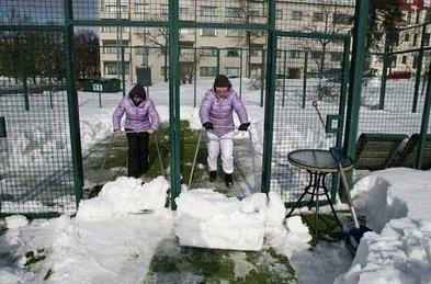 Consejos para jugar a padel en invierno