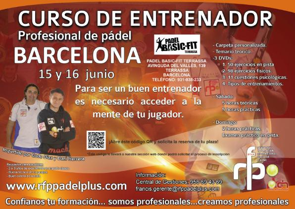 Curso de Entrenador Profesional de Padel RFP 2013