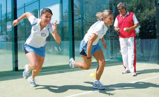 Curso de preparación física en el padel con Catalina Tenorio