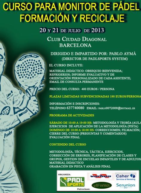 Curso_para_monitor_de_padel_Formacion-reciclaje_Ciudad_Diagonal_Julio_2013