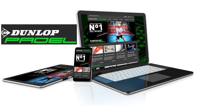Descubre la nueva web de Dunlop padel