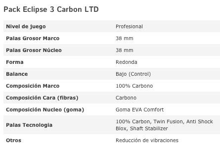 Eclipse 3 Carbon LTD