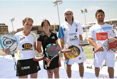 Díaz-Mieres y Montes-Llaguno, Campeones de España Absolutos de Pádel 2010