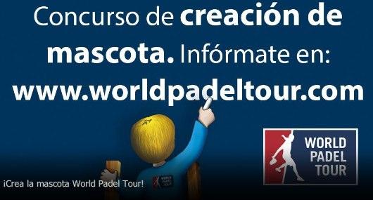 Diseña la mascota de World Padel Tour