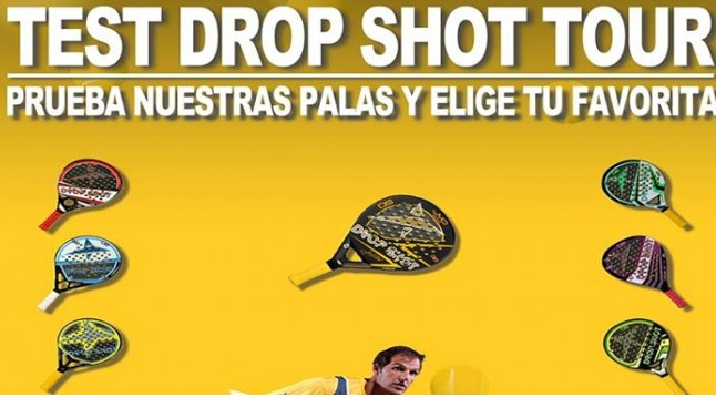 Drop Shot inicia un tour de tests de sus nuevas palas por España